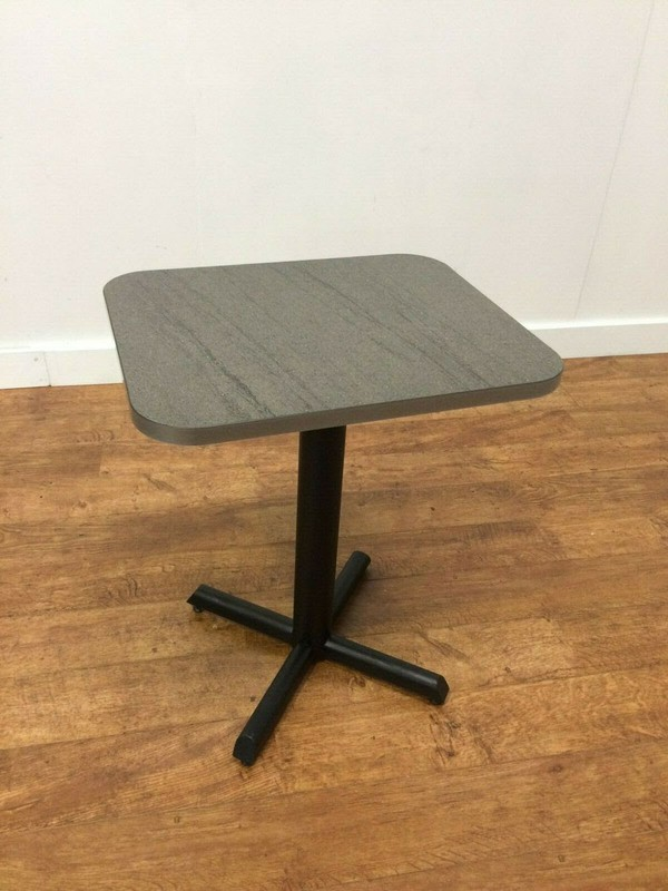 Gorgeous New laminate concrete/stone effect cafe/bistro tables 600 x 500