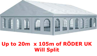 RÖDER B Tent Clearspan marquee for sale