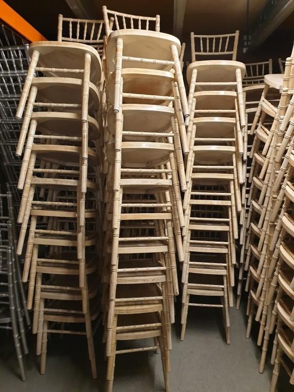 Second Hand Limewash Chiavari Chairs