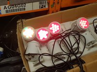 Multifunction LED Coloured Spot Light Sets