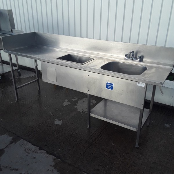 Used Stainless Steel Single Bowl Dishwasher Sink