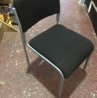 175x Black and Silver Conference Chairs