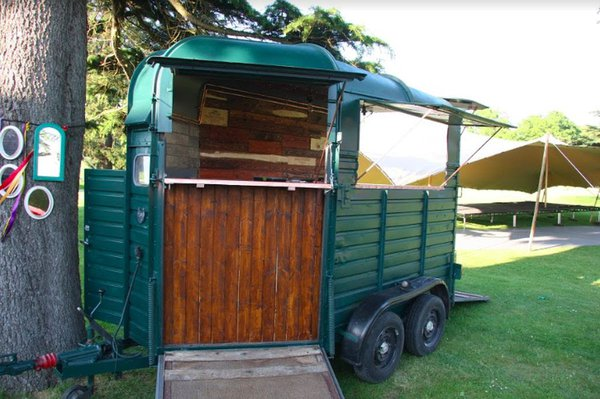 Horse box catering trailer for sale