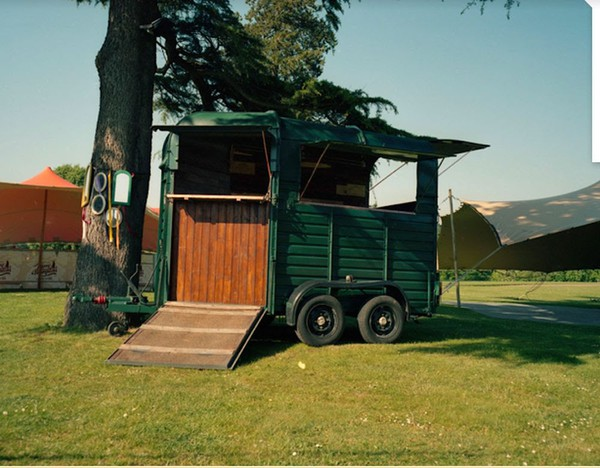 Mobile bar horse box trailer for sale