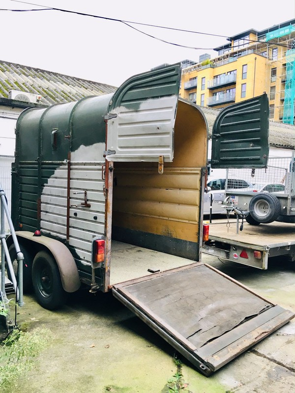 Horse box for catering trailer conversion?