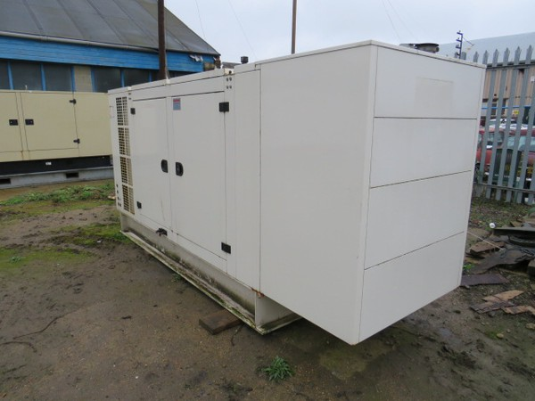 Volvo Silent Diesel Generator, 230/400v 50Hz 3 Phase - Kent