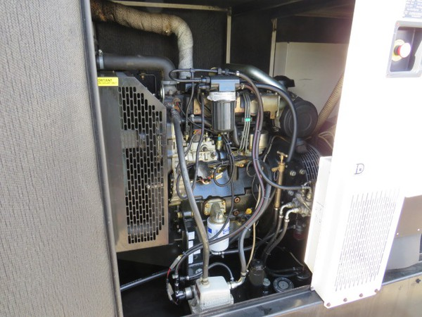 Used Perkins 35Kva Generator For sale