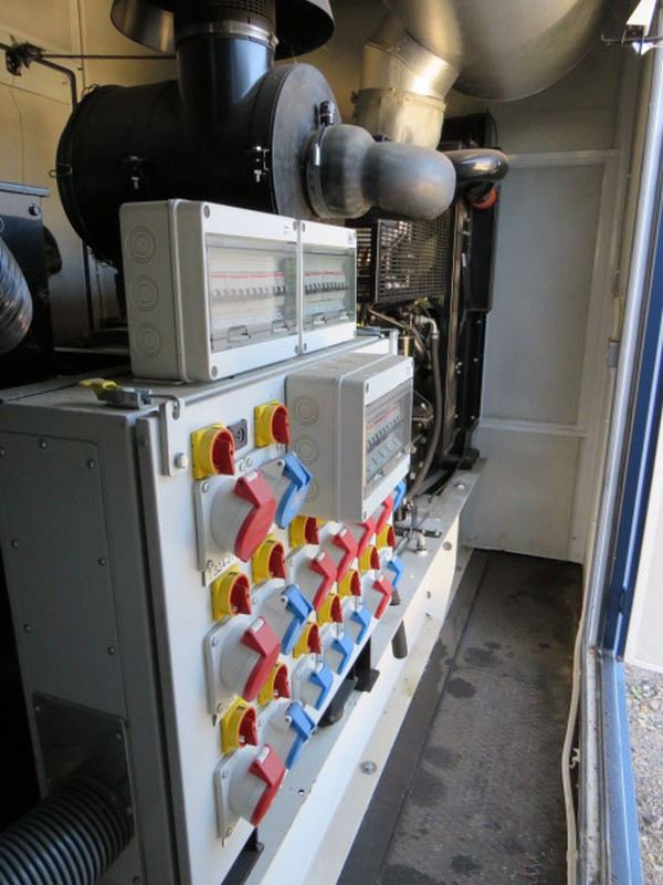 Super Silent Generator 450Kva