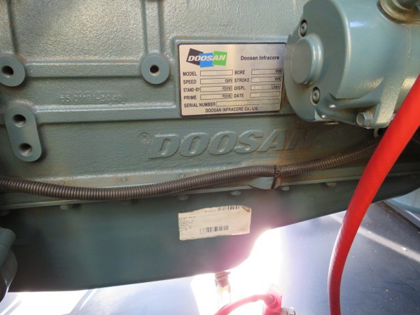 Used Aksa 220Kva Generator