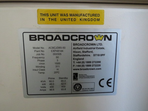 Second Hand Generators For Sale