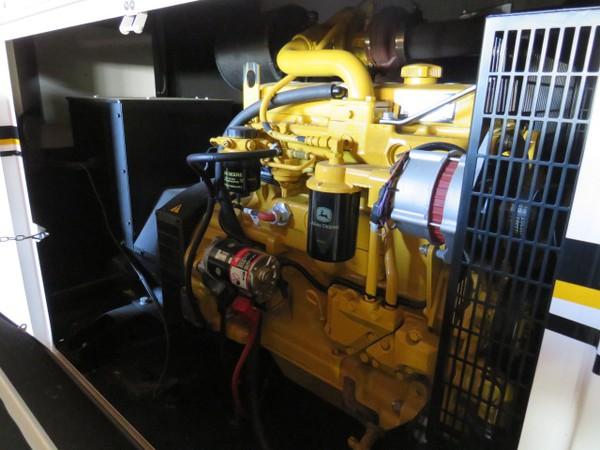 John Deere powered silent generator