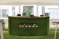 Circular Astro-Turf Bar - Ansty, West Sussex