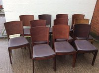 Wooden back chairs for sale