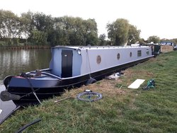 Pat Buckle Boats Build Year 2004 55ft Cruiser Stern Narrowboat
