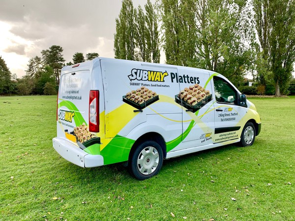ex Subway refrigerated catering van