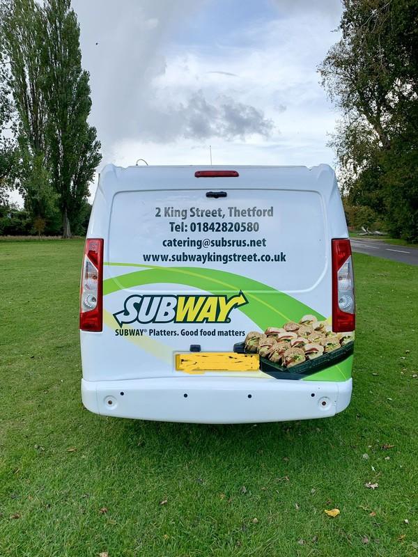 Fiat sandwich deliver van
