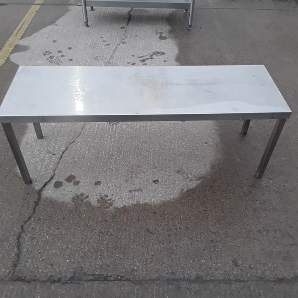 Used Stainless Steel Stand Gantry Shelf (10406)