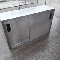 Used Stainless Steel Wall Cabinet (10408)