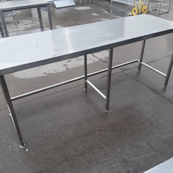 Used Stainless Steel Table (10409)