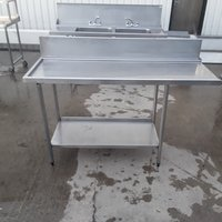 Used Stainless Steel Dishwasher Table (10411)