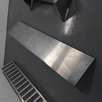 Used Stainless Steel Wall Shelf
