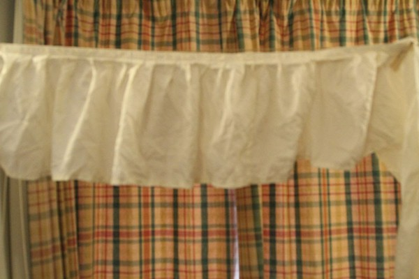 3m Ivory Pleated Valences for sale