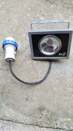 ip64 20w LED Floodlights With Waterproof Plugs