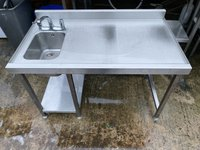 1100mm Stainless Steel Bar Sink