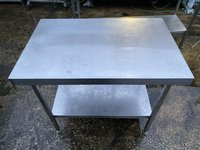1m Stainless Steel Centre Table - Sheffield, South Yorkshire