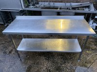 1.7m Stainless Steel Table