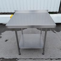 90cm Used Stainless Steel Table for sale