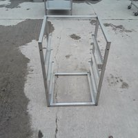 Used Stainless Steel Dishwasher Stand