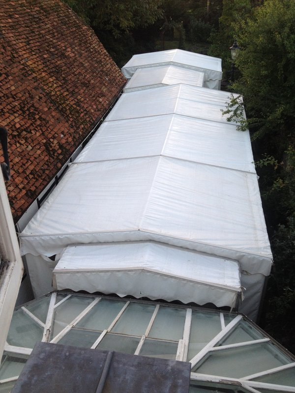Used PVC Roofs And Gables For Sale