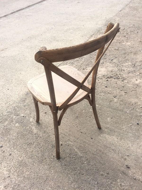 Wooden Cross Back Wedding Event Chair