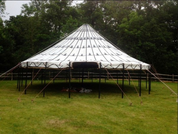 Black and white Moroccan marquee for sale