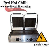 Chefmaster Twin Panini Grill