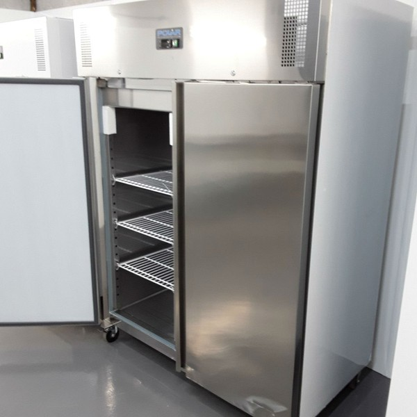 Big upright fridge