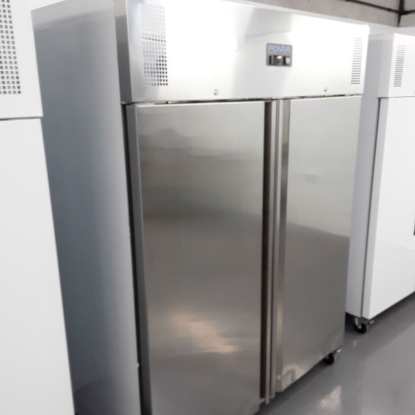 Stainless steel commercial fridge