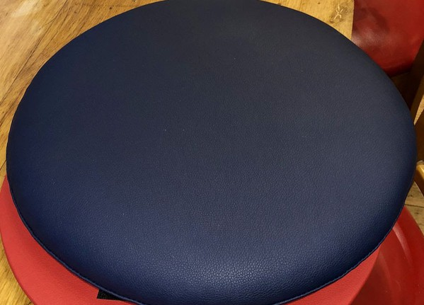 Refurbished Red Tub Style Chairs