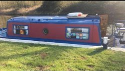 23ft Narrowboat Cruiser Live Aboard Boat