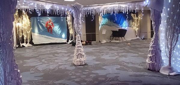 Giant Fibreglass Ice Stalagmites 2.4m