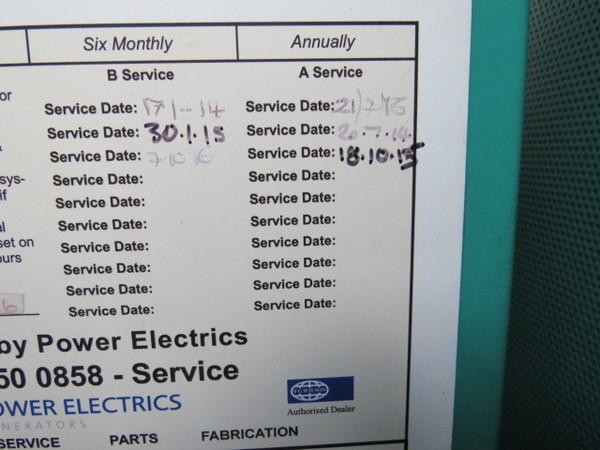 Diesel Generator 259kva