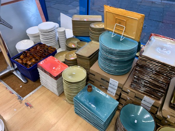Dudson clearance stock crockery