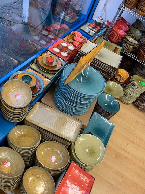 Dudson clearance stock in Mediterranean Colours