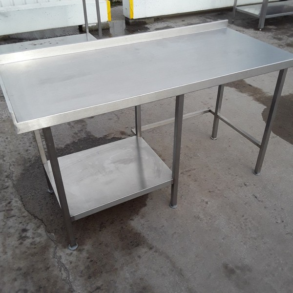 150cm Used Stainless Steel Table