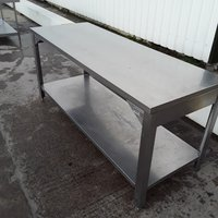 1900mm Used Stainless Steel Table For Sale