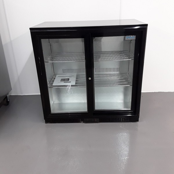 New B Grade Polar GL003 Double Bottle Fridge