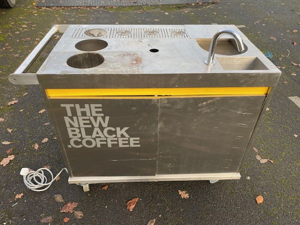 Coffee Serving Trolley For Sale