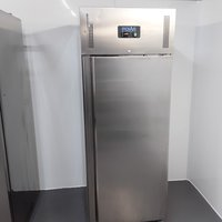 Polar U633 Stainless Single Upright Freezer Heavy Duty