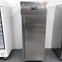 Polar U632 Stainless Single Upright Fridge Heavy Duty
